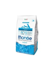 Monge all breeds light salmone e riso 12 kg