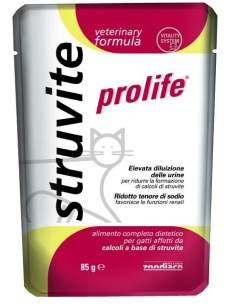 Prolife cat vet urinary struvite busta 85 gr