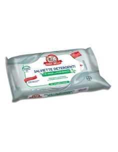 Bayer Sano e Bello Salviette Detergenti al tè verde con fiori bianchi 50 pezzi