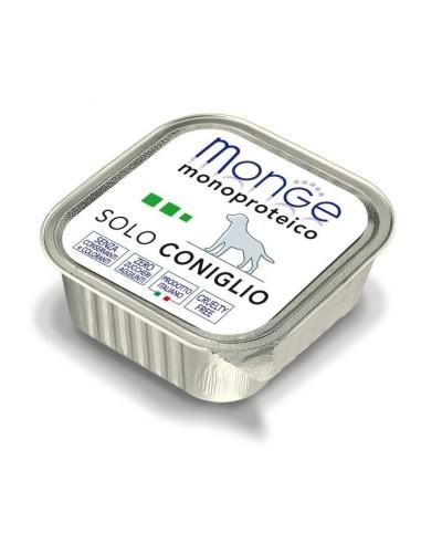 Monge Dog Monoprotein Wet Food Solo Coniglio - 150gr