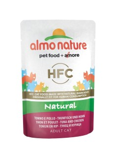 Almo Nature classic NATURAL - Tonno e Pollo 55g