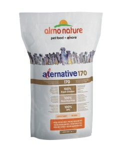 Almo Nature ALTERNATIVE 170 M-L Pollo e Riso 3750g