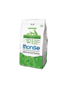 Monge all breeds adult coniglio, riso e patate 12 kg