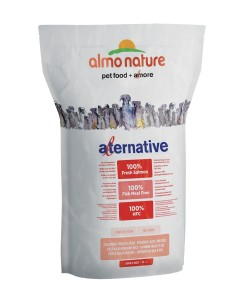 Almo Nature ALTERNATIVE M-L Salmone e Riso 3750g