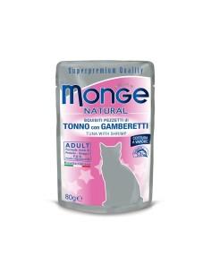 Monge buste tonno/gamberetti 80 gr