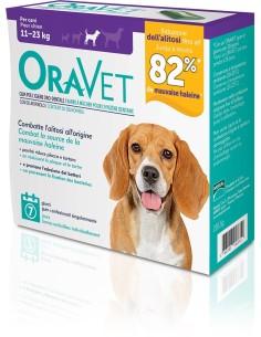 Oravet Gum M per cani da 11-23 kg 7 pezzi
