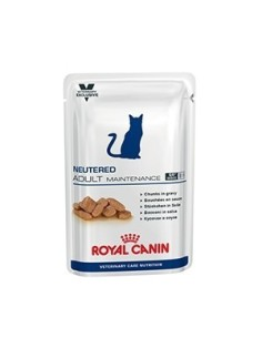 Royal Canin bustina neutered adult maintenance cibo umido per gatti 100g