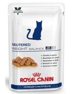 Royal Canin bustina neutered weight balance cibo umido per gatti 100g