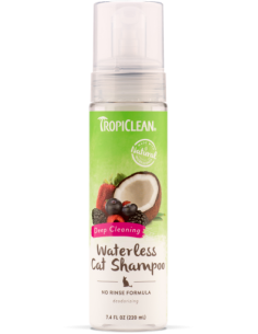 TROPICLEAN Waterless Shampoo DEEP CLEANING 220 ml