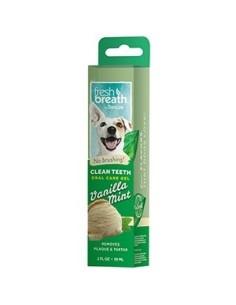 TROPICLEAN Clean Teeth Gel Vanilla Mint 59 ml