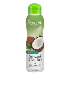 TROPICLEAN Shampoo Oatmeal and Tea Tree MEDICATED 355 ml