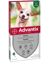 Bayer Advantix Spot-on 4 pipette per Cani fino 4kg