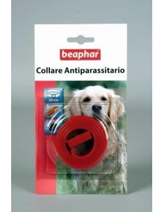 Beaphar Collare antiparassitario rosso per cane in Box