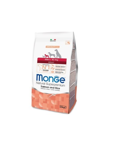 Monge Dog Superpremium Mini Adult con Salmone - 2.5kg