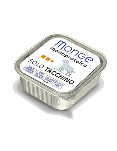 Monge Dog Monoprotein Wet Food Solo Tacchino - 150gr