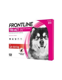 Frontline tri-act spot-on per cani 3 pip. 40-60 kg