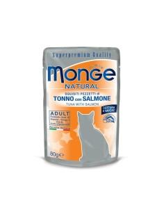 Monge buste tonno/salmone 80 gr