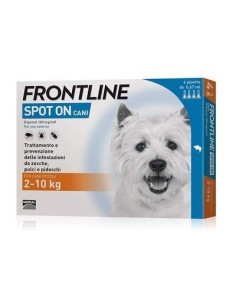 Frontline spot-on cani 2-10kg 4 pipette