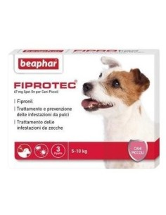 Fiprotec cane piccolo 3 pipette x 67 mg