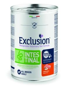 EXCLUSION INTESTINAL Maiale e Riso lattina 400g
