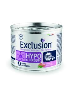 EXCLUSION HYPOALLERGENIC Maiale e Piselli lattina 200g