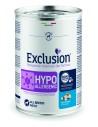 EXCLUSION Hypoallergenic  Pesce e Patate lattina 400g