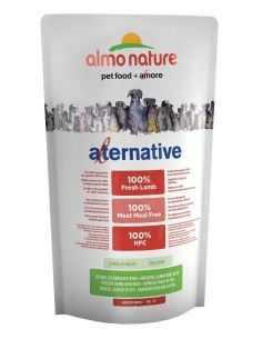 Almo Nature ALTERNATIVE XS-S Agnello e Riso 750g