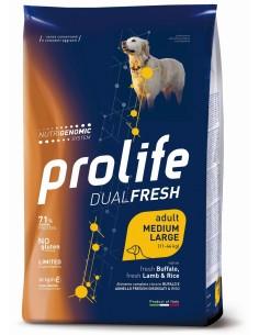 Prolife Dual Fresh Ad Agnello/Bufalo e Riso medium/large 2,5 kg