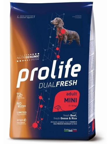 Prolife Dualfresh Adult Mini Manzo Oca e Riso - 2 kg