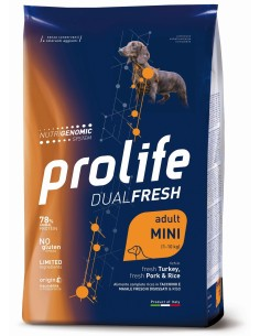 Prolife Ad Tacchino/Maiale e Riso mini 0,6 kg