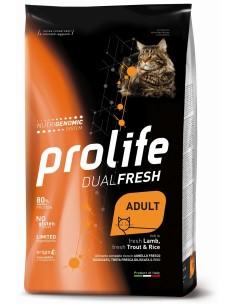 Prolife Cat dual fresh Ad Agnello/trota e riso 1,5 kg