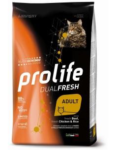 Prolife Cat dual fresh Ad manzo/pollo e riso 0,4 kg