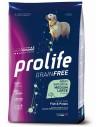 Prolife Grainfree Adult Sensitive Medium/Large Pesce e Patate - 10 kg