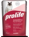 Prolife Cat Sensitive Adult Maiale e Patate - 85 gr