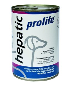 Prolife dog vet hepatic 400 gr