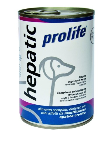 Prolife Dog Hepatic Wet - 400 gr