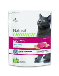 Natural trainer Gatto  adult tonno 1,5 kg