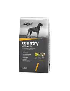 Golosi country all breeds crocchette cane 12 kg