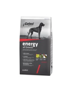 Golosi energy all breeds crocchette cane 12 kg