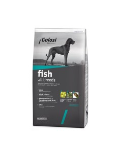Golosi fish all breeds crocchette cane 12 kg