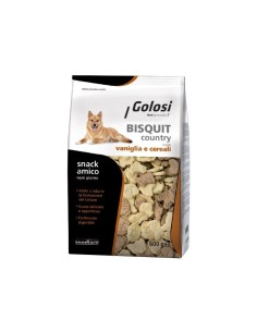 Golosi bisquit country vaniglia cereali 600 gr
