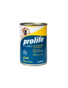 Prolife   Large Pollo & Riso lattina 400 Gr per cani