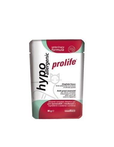 Prolife cat vet hypoallergenic busta 85 Gr