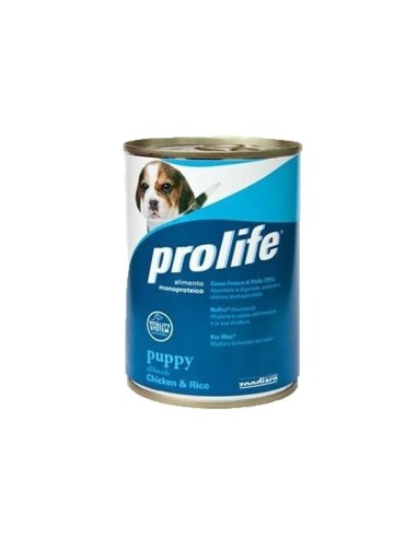 Prolife All Breeds Pollo e Riso lattina 400 Gr per cuccioli