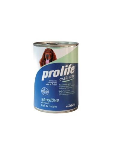 Prolife Dog Grain Free Sensitive Pesce e Patate - 400gr