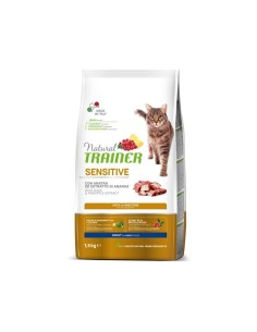 Natural Trainer Cat Sensitive Monoproteico anatra 1,5kg