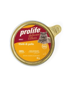 Prolife delicate filetti di pollo monoproteico 85 gr