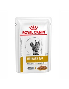 Royal Canin bustina urinary moderate calorie cibo umido per gatti 85g