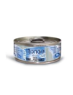 Monge jelly filetti di tonno e pesce bianco 80 gr