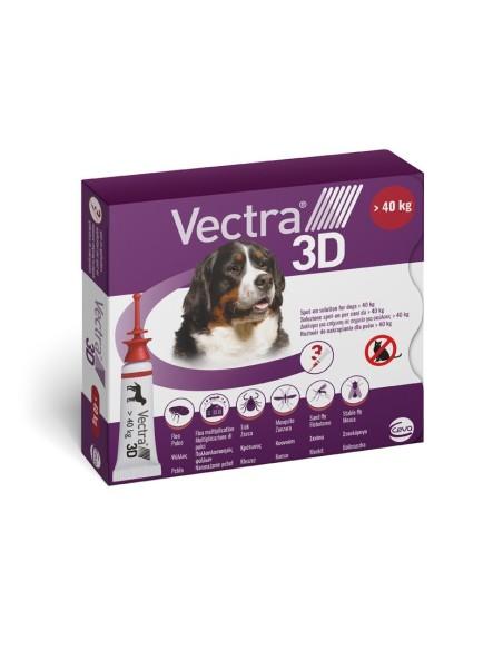Vectra® 3D spot-on per cani oltre 40 kg (3 pipette)